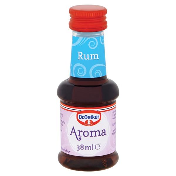 Dr. Oetker Bakingredient Rum Aroma voorkant