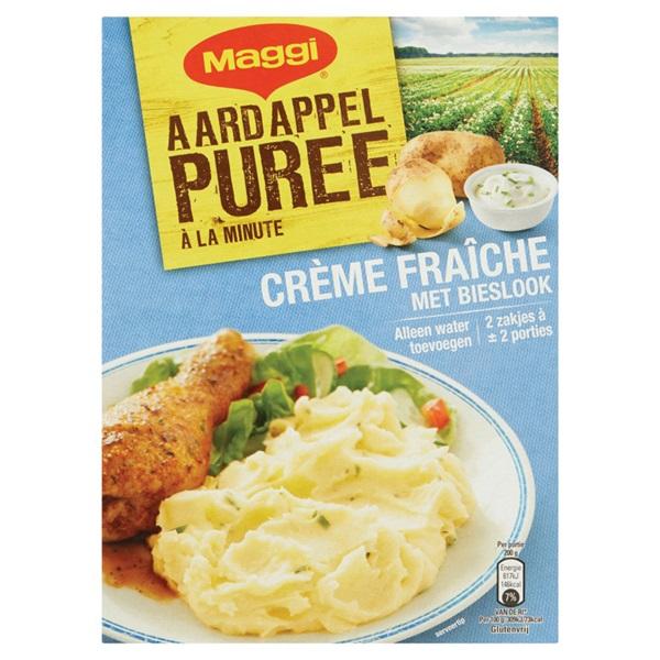 Maggi Puree Crème Fraîche voorkant