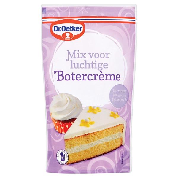 Dr. Oetker Botercreme Mix voorkant