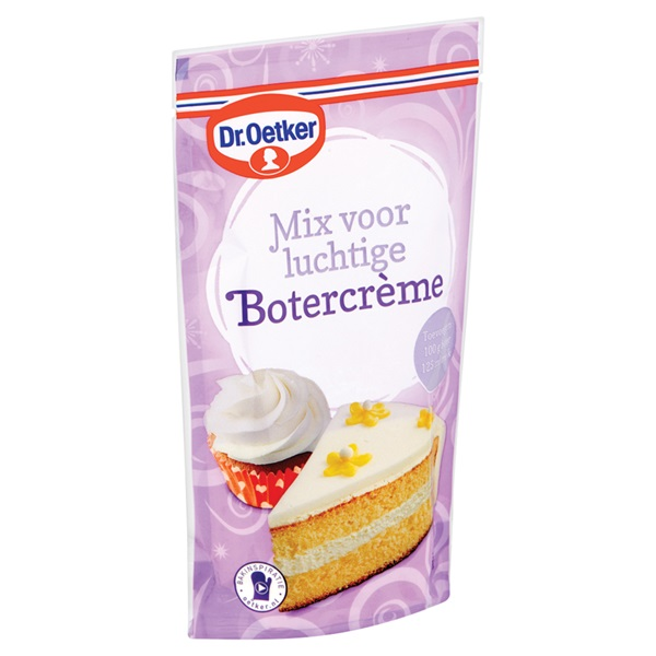 Dr. Oetker Botercreme Mix achterkant