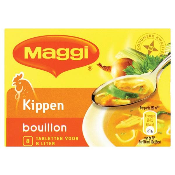 Maggi Bouillon Blok Kip 4 L voorkant