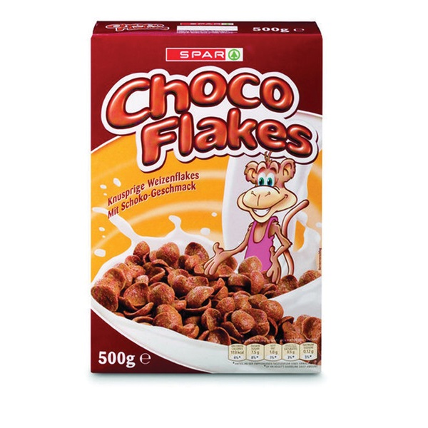 Spar Ontbijtgranen Choco Flakes voorkant