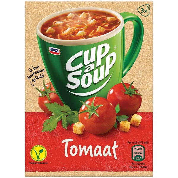 Unox Cup-a-Soup Tomaat voorkant