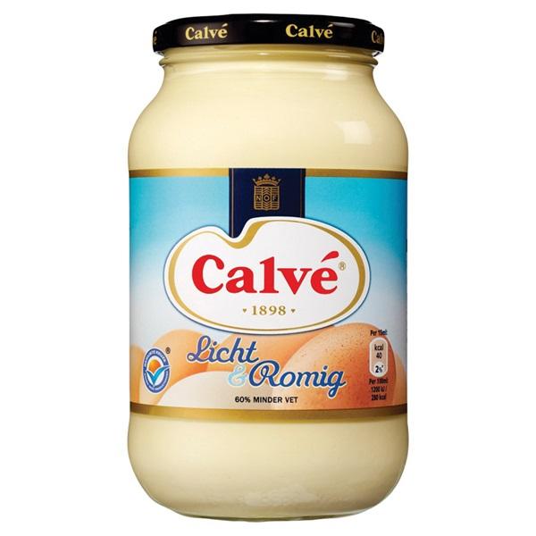 Calvé Mayonaise Licht & Romig voorkant