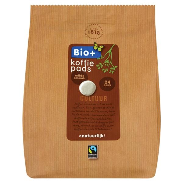 Bio+ Koffiepads Dutch Roast voorkant