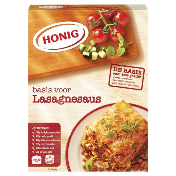 Honig Pastasausmix Lasagne voorkant