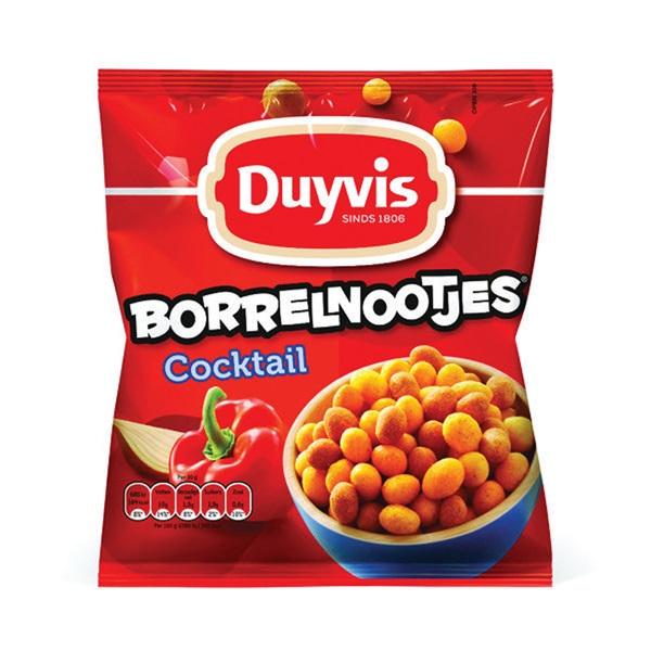 Duyvis Borrelnootjes Nootjes Cocktail Mix voorkant