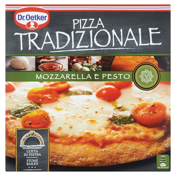 Dr. Oetker Tradizionale Pizza Mozzarella voorkant
