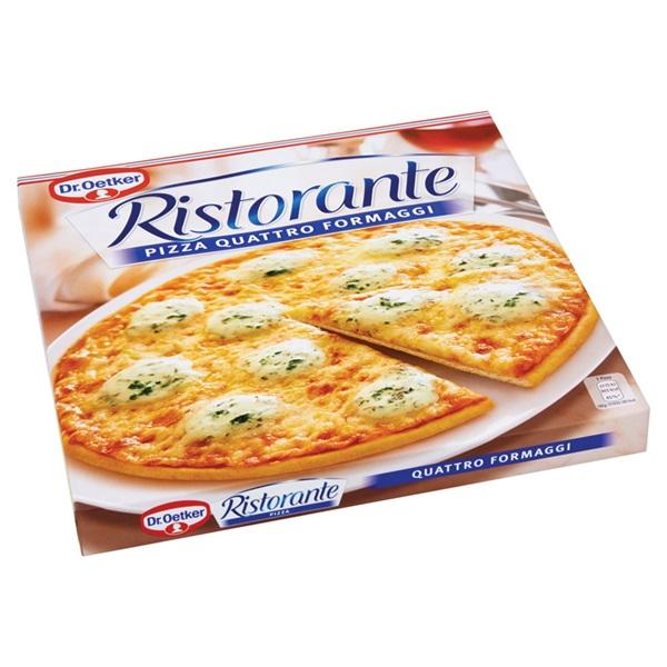 Dr. Oetker Tradizionale Pizza Mozzarella achterkant
