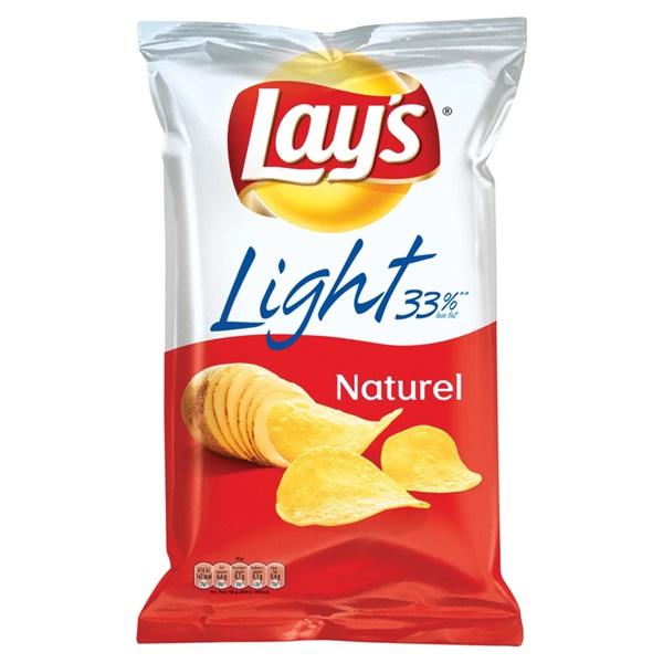 Lay's Chips Light Naturel voorkant
