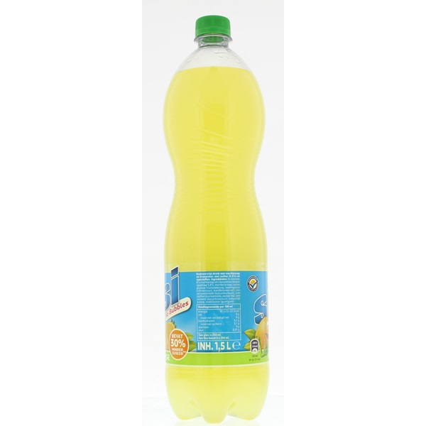 SiSi Frisdrank No Bubbles Orange achterkant