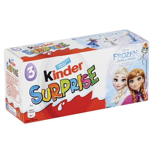 Kinder Chocolade Surprise voorkant