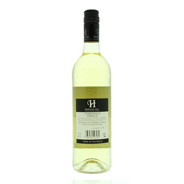 Harolds Hill Chardonnay Semillon achterkant