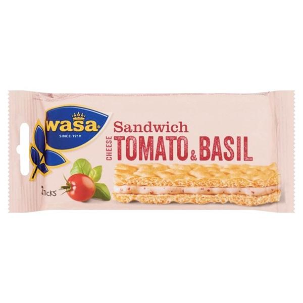 Wasa Sandwich Tomaat Basilicum achterkant