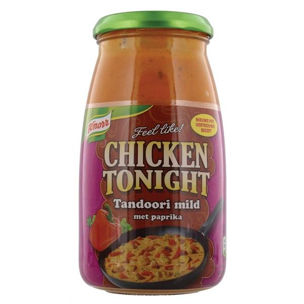 Knorr Chicken Tonight Roerbaksaus Tandoori voorkant