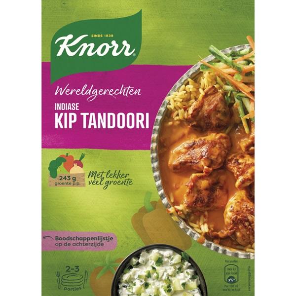 Knorr Wereldgerechten Kip Tandoori voorkant