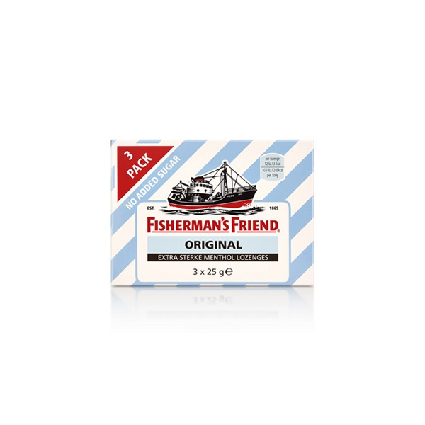 Fisherman's Friend Original Keelpastilles voorkant