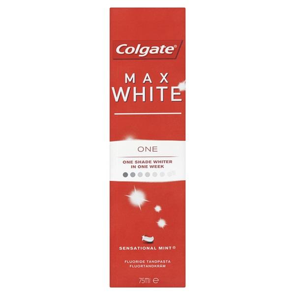 Colgate Tandenpasta Max White One voorkant