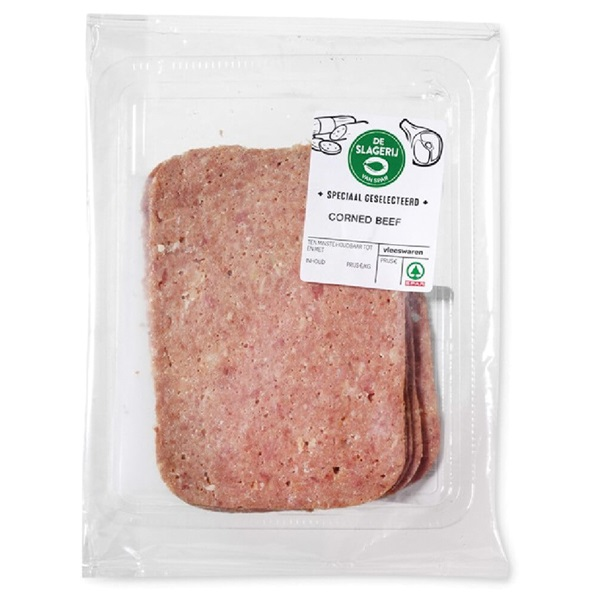 Spar Corned Beef voorkant