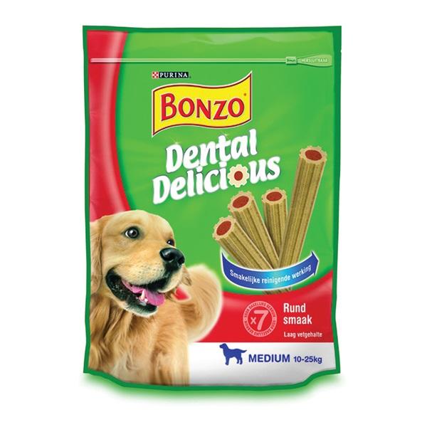 Bonzo Hondensnack Dental Delicious voorkant