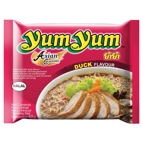 Yum Yum Bami Soep Eend voorkant
