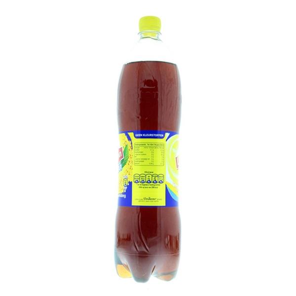 Lipton Ice Tea IJsthee Sparkling 1,5L achterkant