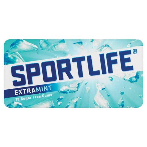Sportlife Kauwgom Extramint voorkant