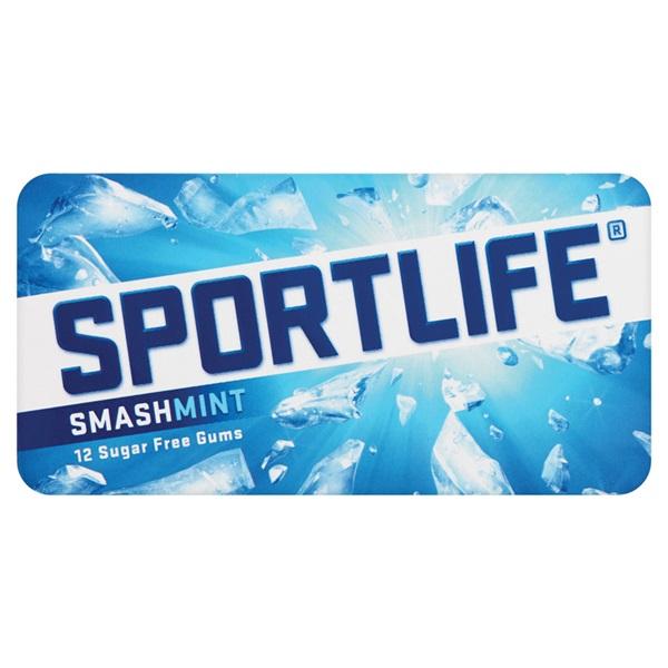 Sportlife Kauwgom Smashmint voorkant