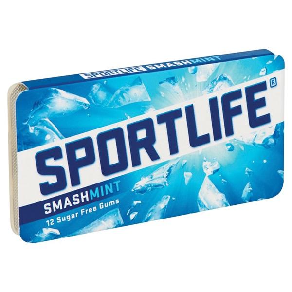 Sportlife Kauwgom Smashmint achterkant