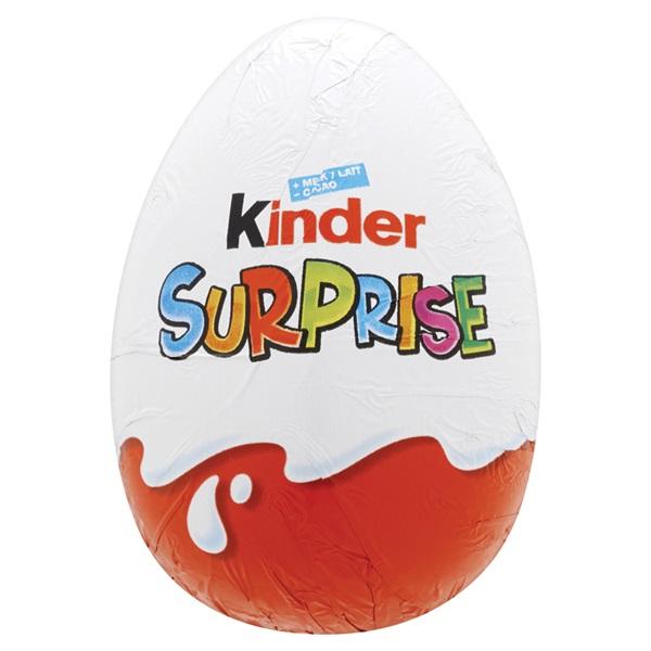 Kinder Suprise Ei voorkant