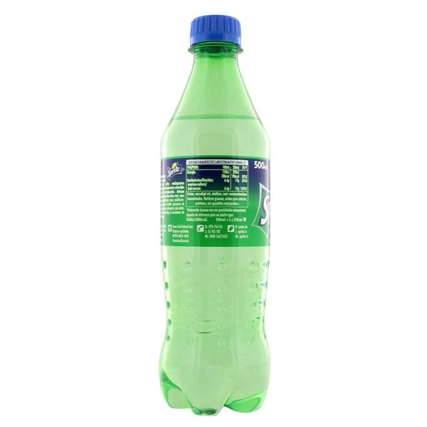 Sprite Frisdrank Regular achterkant