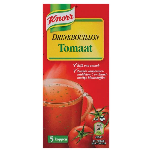 Knorr Drinkbouillon Tomaat voorkant
