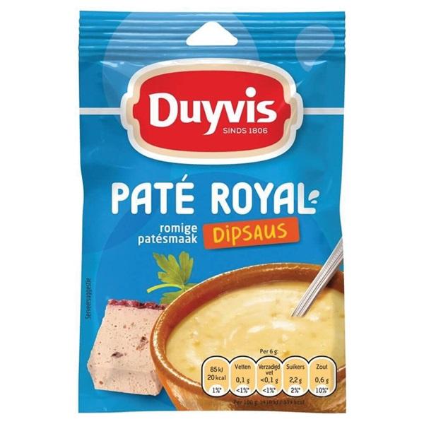 Duyvis Dipsaus Pate Royal voorkant