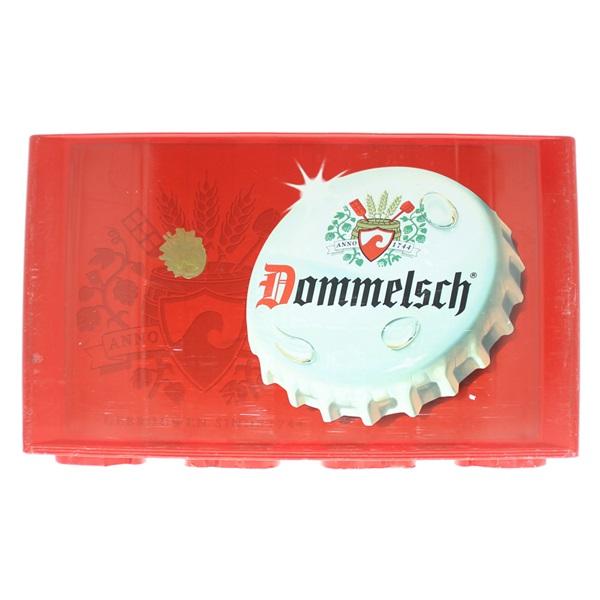 Dommelsch Bier Krat voorkant