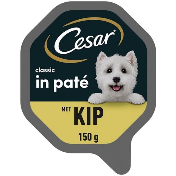Cesar Classic Hondenvoer Met Kip voorkant