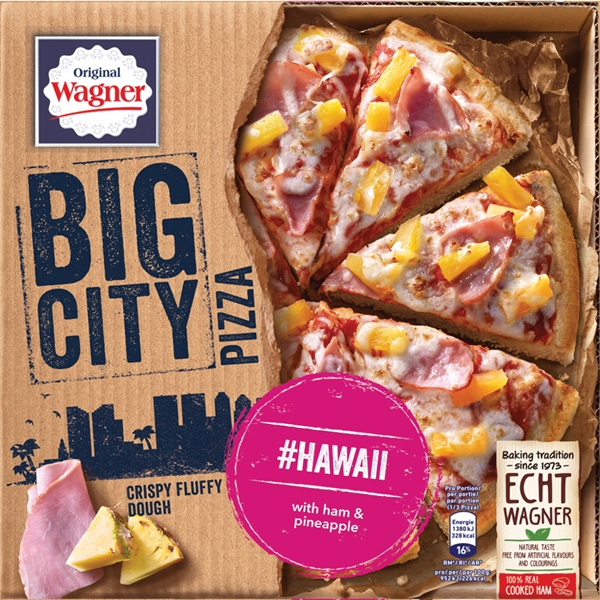 Wagner Big Pizza Pizza Hawaii voorkant