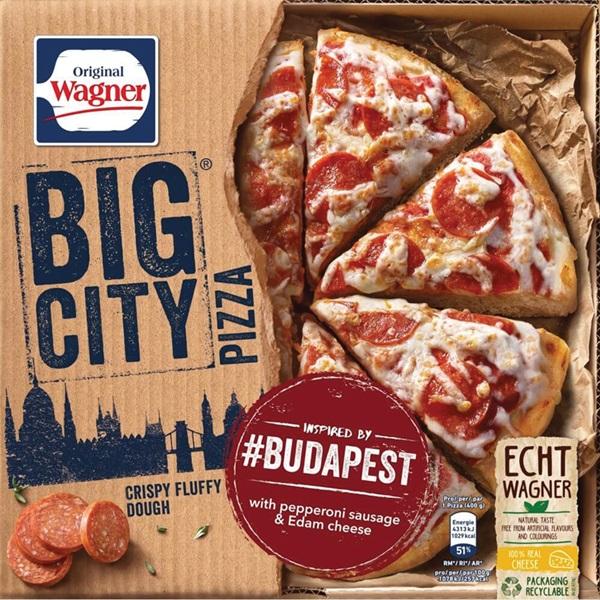 Wagner Big Pizza Pizza Texas voorkant