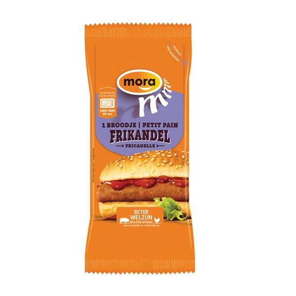 Mora Broodje Frikandel voorkant