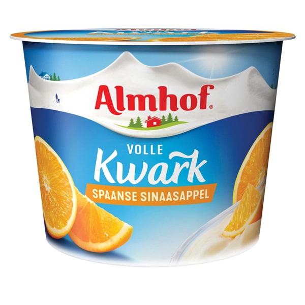 Almhof Kwark Spaanse Sinaasappel voorkant