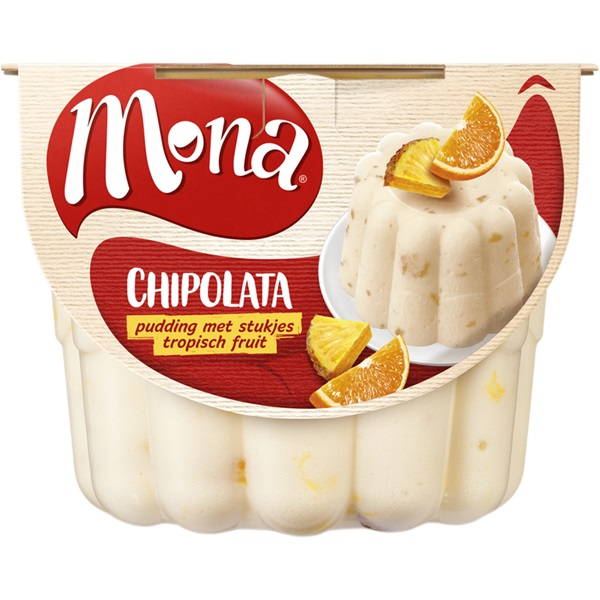 Mona Pudding Chipolata voorkant