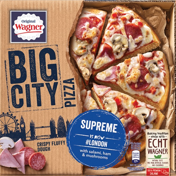 Wagner Big Pizza Pizza Supreme voorkant