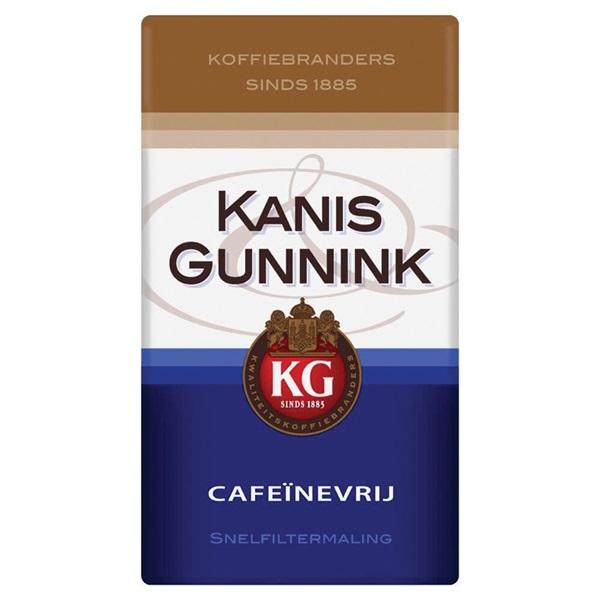 Kanis - Gunnink Koffie Cafeïnevrij voorkant