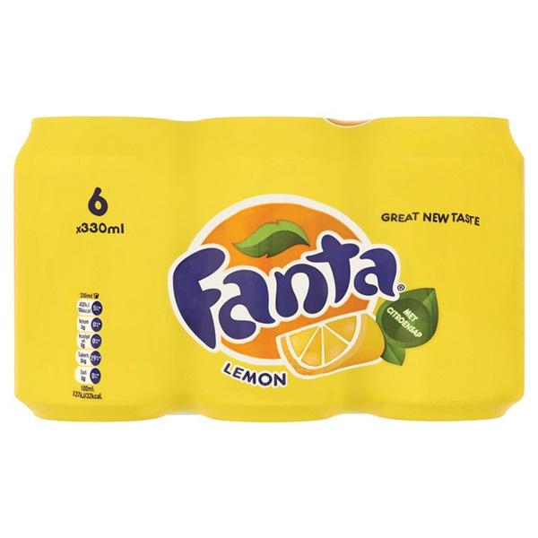 Fanta Frisdrank Lemon voorkant