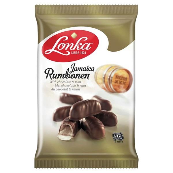 Lonka Chocolade Jamaica Rumbonen voorkant