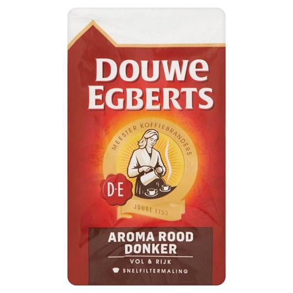 Douwe Egberts Koffie Aroma Donker voorkant