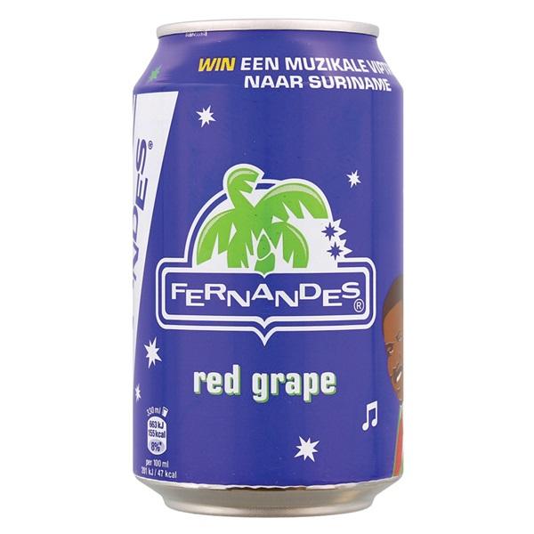 Fernandes Frisdrank Red Grapefruit voorkant