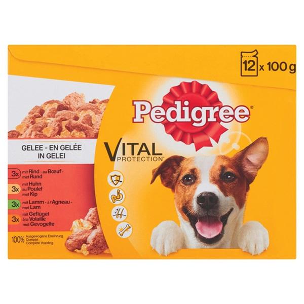 Pedigree Hondenvoer Favourites In Gelei voorkant