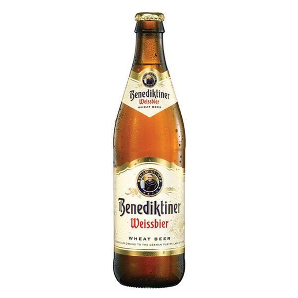 Benediktiner Bier Weisbier 50CL voorkant