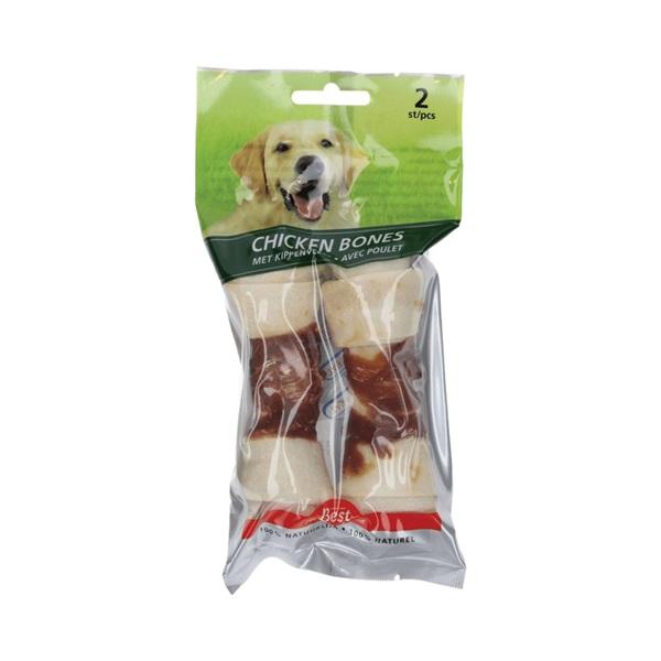 Best for your Friend Hondensnack Chicken Bones Large voorkant