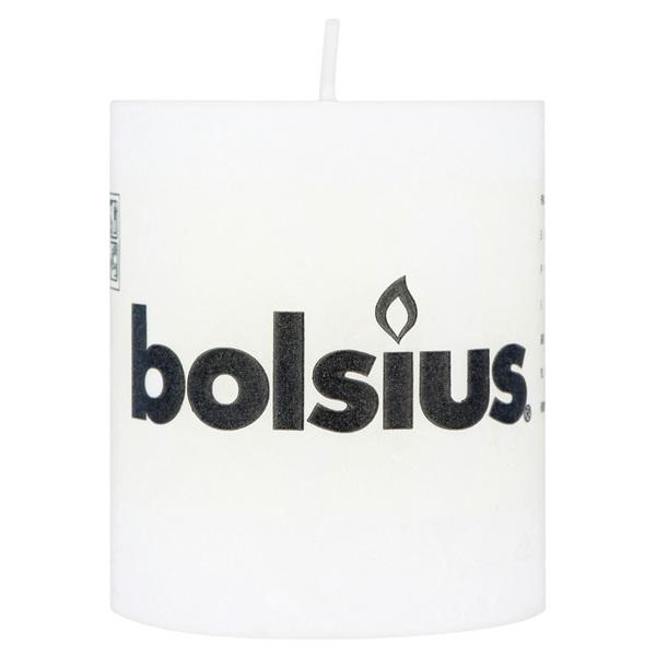 Bolsius Stompkaars Wit voorkant